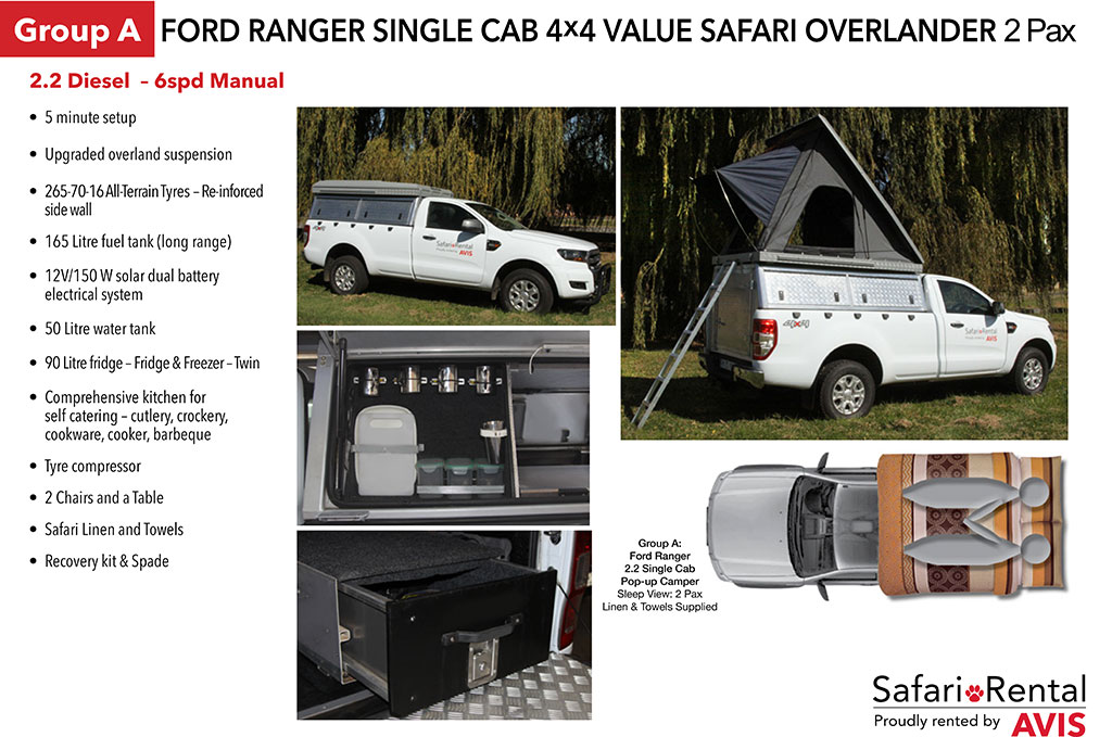 dual battery ford ranger lennox heat pump wiring diagram rent a 4x4 safari vehicle rentals and tours features