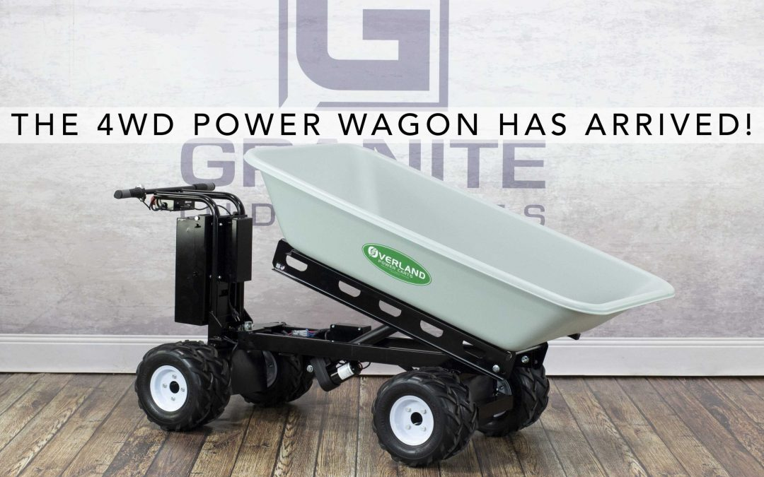 Overland Carts Release a New Line of 4WD Power Wagons!