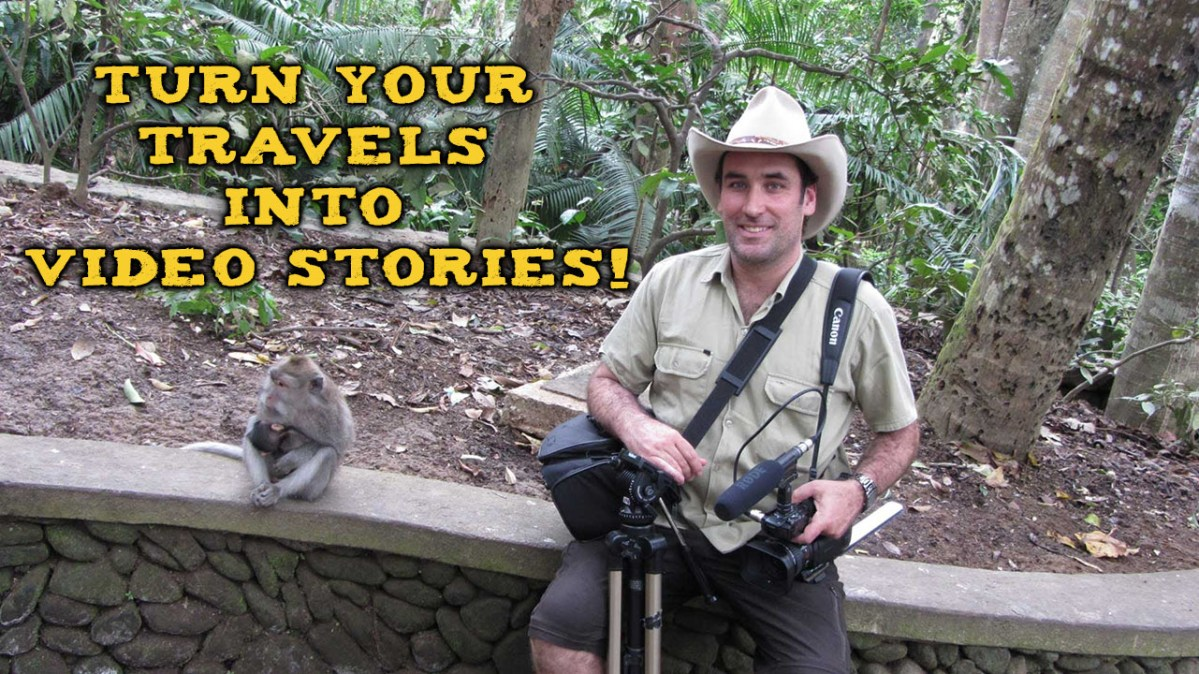 Learn how to make Travel Videos! Do my course!