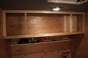 Cabinet inside the cabin