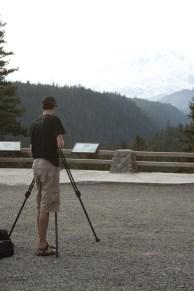 Landon Starts the filming
