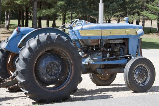 Camp Wakonda's old Tractor