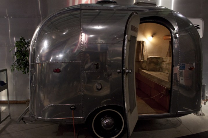 A prototype Airstream - Smallest ever built