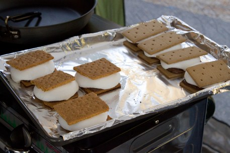 Senior Management's Smores from the Oven