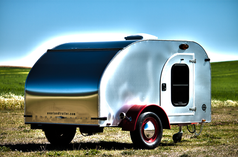 Stainless Steel, custom maple cabinets, Model A Tail lights, custom paint, bunk bed, modern conveniences in a vintage package