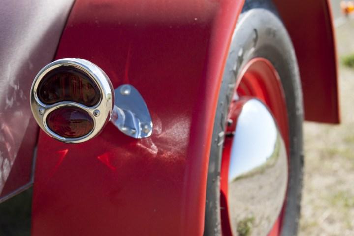 "Model A Tail-light & 1"" Radius Fenders"