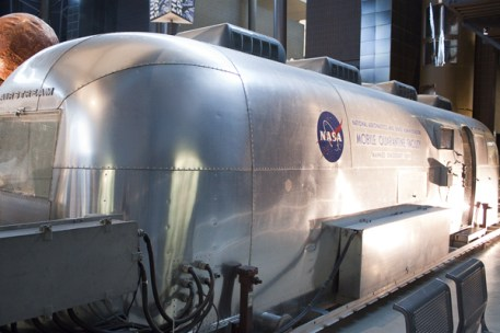 The first time I saw the Airstream