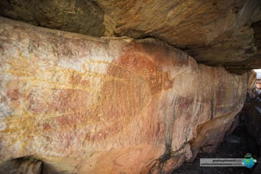 Pintura com mais de 40.000 anos.