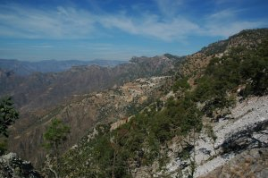 Batopilas to Urique - down to Urique Canyon