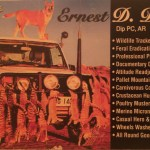 Ernest D. Dingo's Card