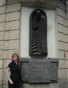 Dostojevski en ik, Sint Petersburg, 2008