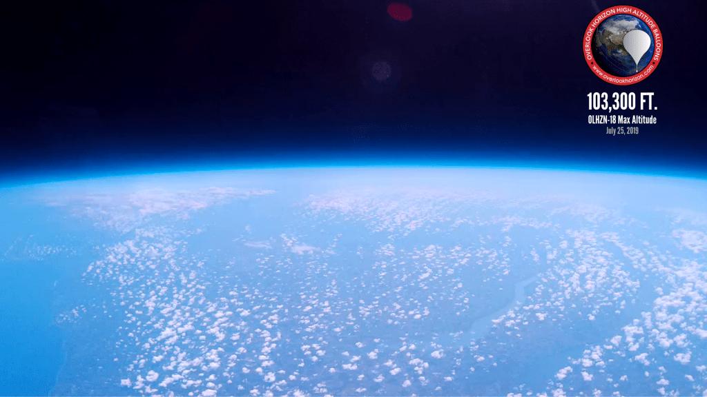 OLHZN-18 Peak Altitude