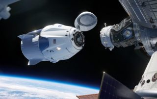 SpaceX Crew Dragon DM-1 Capsule