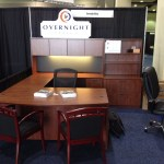 U Shape Executive Desk Set Including Everything In The Picture And White Glove Delivery Setup Sale Overnight Office