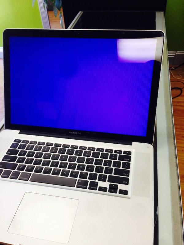 Lines Macbook Pro Screen - Computer Repair- Overnight