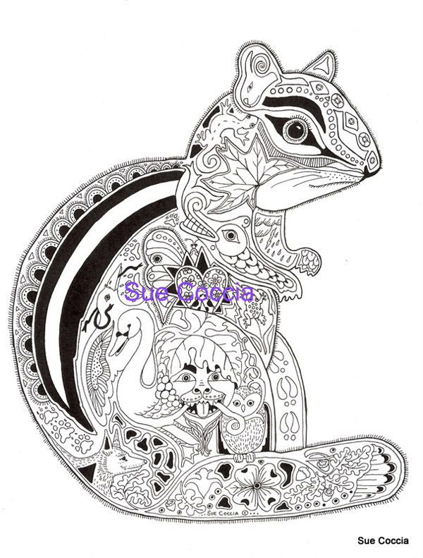Sue Coccia Free Coloring Pages Escape From The House Of Gord