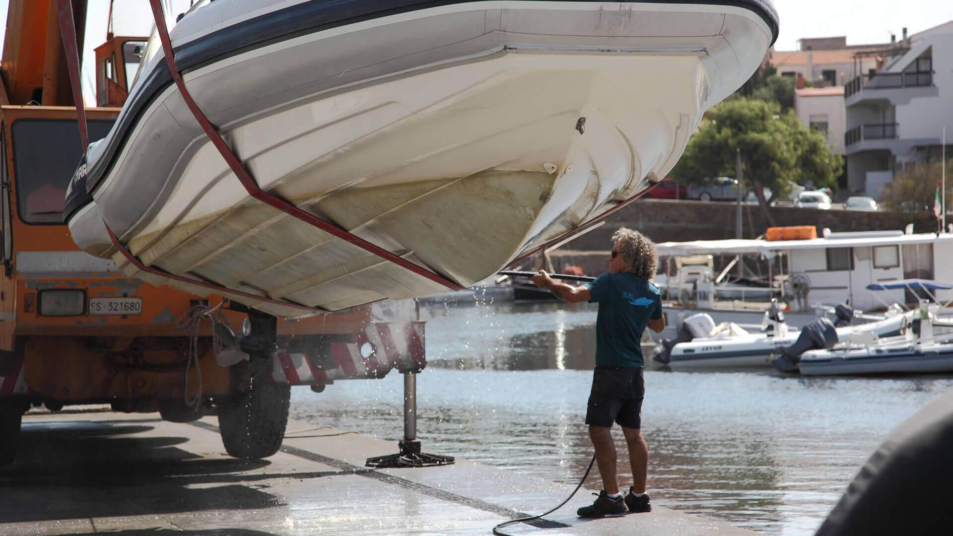 Servizi barca stintino