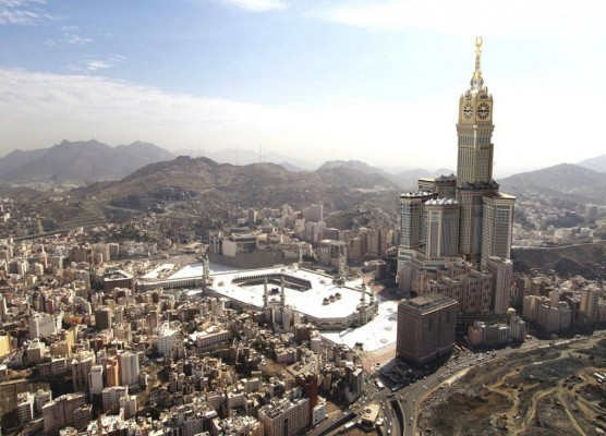 Mecca Royal Clock Tower, Mecca, Saudi Arabia - 3rd Tallest Building in the World