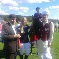"Norwegian girl while horse riding on Pakistan's Independence Day in Oslo: She hopes for future of ""Dzhigitovka"""