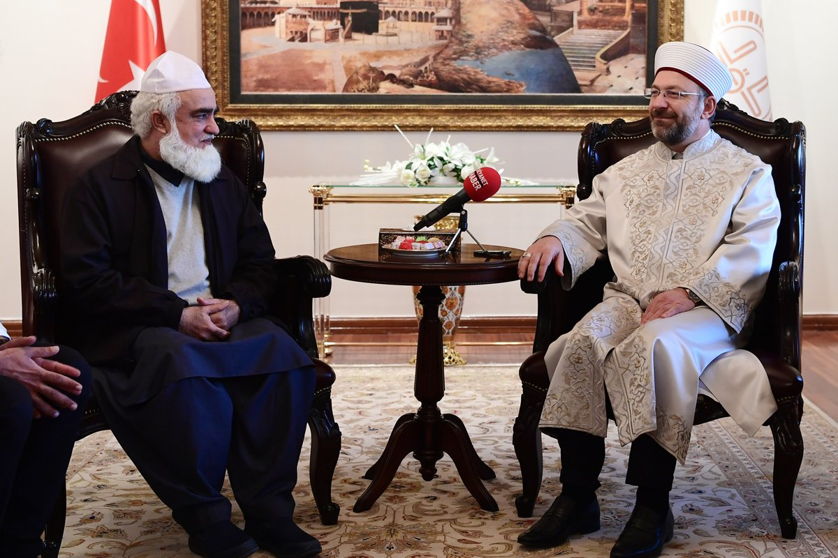 Pakistan's Minister of State for Religious Affairs meets President of Turkish Diyanet | Meeting of MoS for Religious Affairs with Presdent of Turkish Diyanet