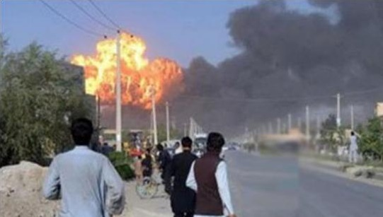 Blast in Quetta on Security Forces Vehicles