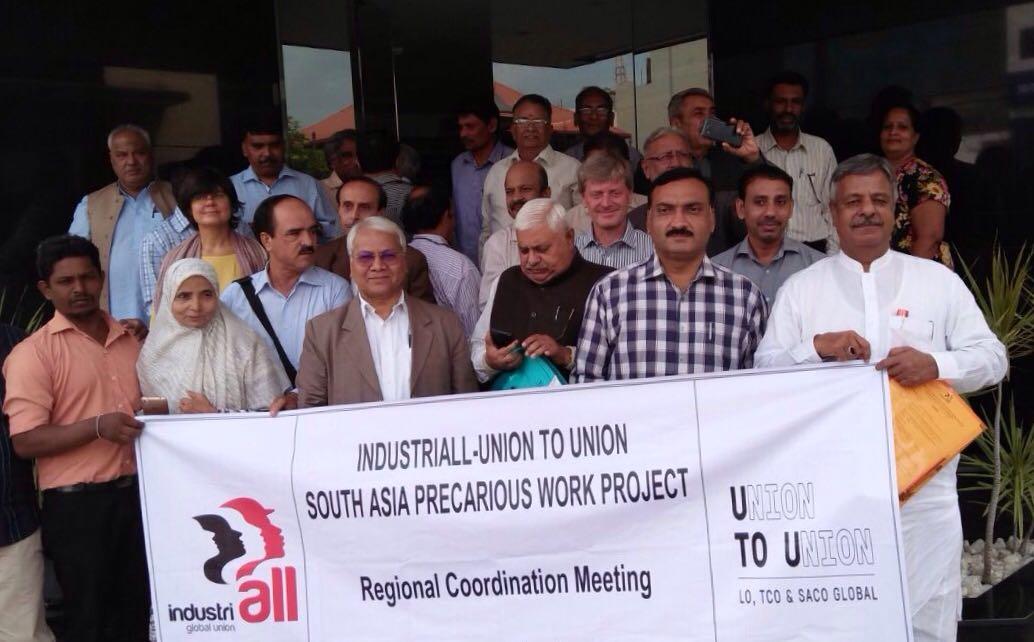 Peerzada Syed Imtiaz General Secretary all pakistan federation of united trade unions in Portugal