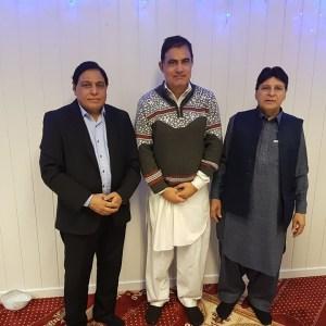 Ali Asghar Shahid, Tariq Muhammad and Mirza Zulfiqar Oslo Norway