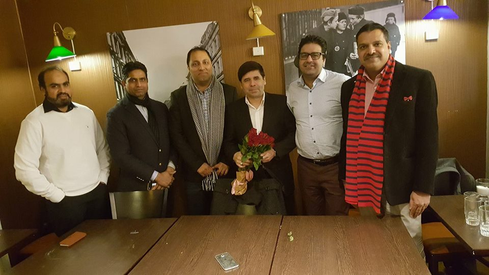 Dinner in the honor of Pakistani Researcher Syed Sibtain Shah