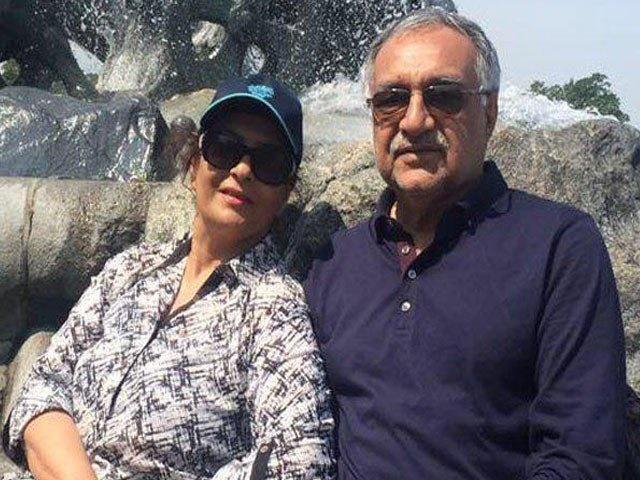 Fariha Razzaq and Mir Hazar Khan Bijarani
