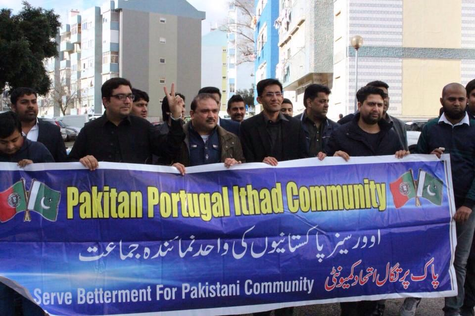Kashmir Day in Portugal by Pakistan Portugal Ittehad Community