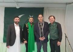 یوم پاکستان کے موقع پر تحریک انصاف یوتھ ڈنمارک کے زیراہتمام کوپن ہیگن میں شاندار تقریب