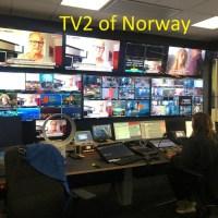 Pakistani Exchange students visit Norwegian TV2 Headquarters in Oslo