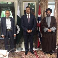 اوسلو: ڈاکٹر سید زوار حسین کی ناروے میں پاکستان کے سفیر ظہیر پرویز سے ملاقات: پاکستان میں فرقہ وارانہ تشدد پر تشویش کا اظہار