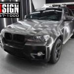 Bmw X6 Brushed Black Metallic Wrapping Www Oversign Com Brcom Br