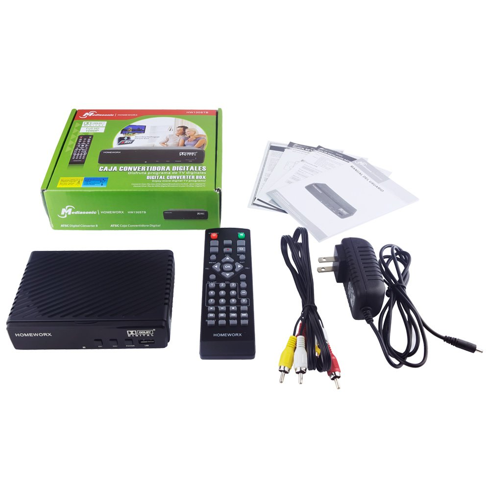 How to Record Over The Air TV With a Digital Converter Box