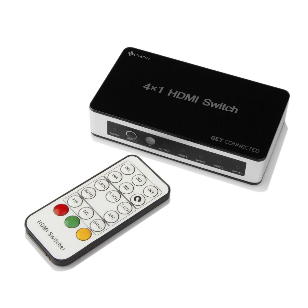 Etekcity HDMI switcher remote_