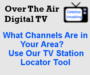 TV Station Locator Tool Over The Air Digital TV - Fcc dtv reception map