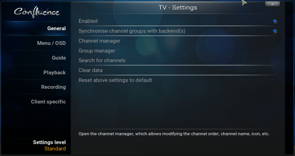 Setting up Kodi for Live Over The Air TV and PVR