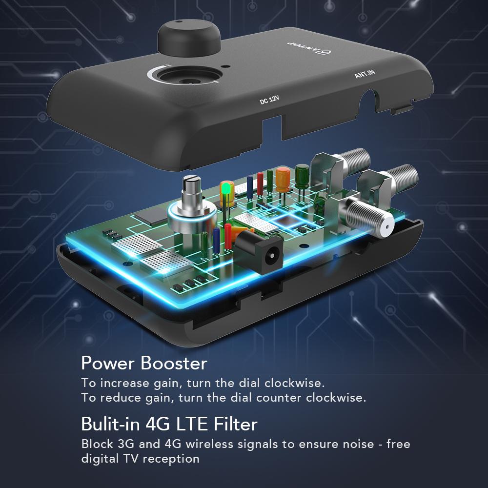 ANTOP Smart Boost Antenna Open