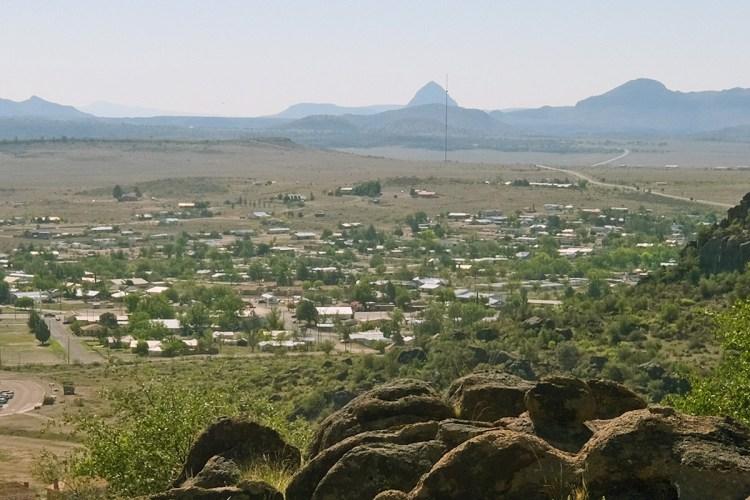 View of Fort Davis