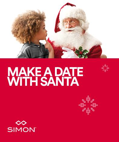 Make an appointment with Santa