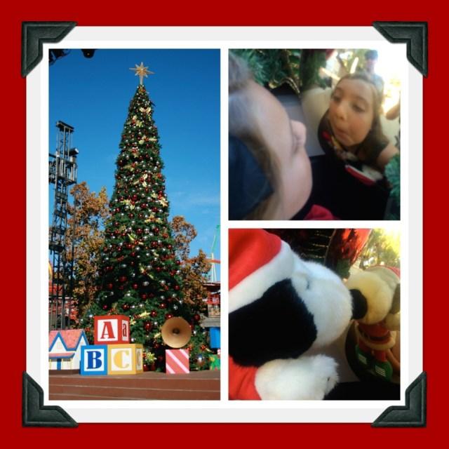 The Knott's Christmas Tree