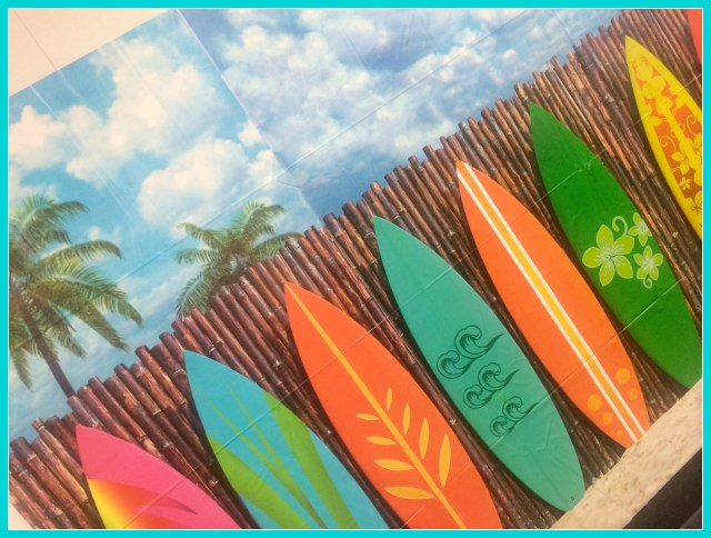 surfboard backdrop