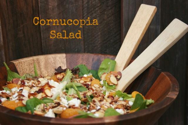 Cornucopia Salad #easyaspotpie #ad
