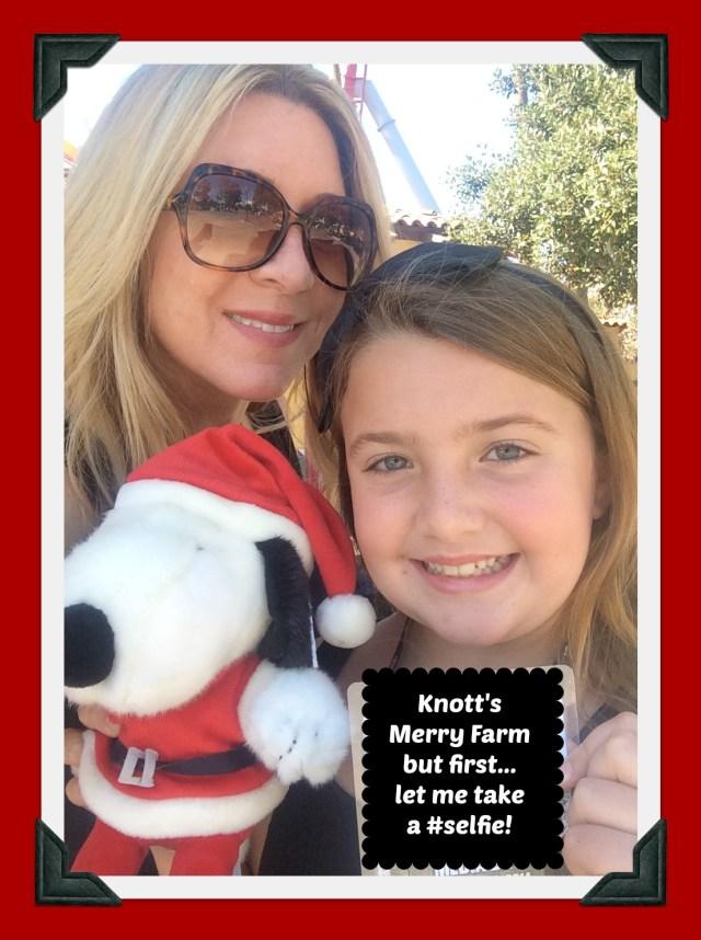 Knott's Merry Farm Selfie