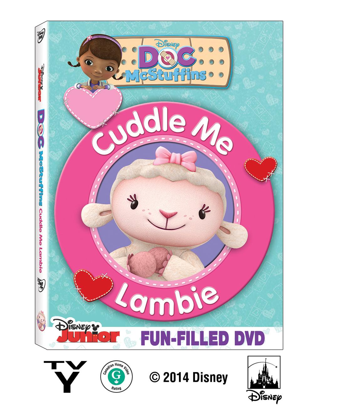 doc mcstuffins cuddle me lambie on dvd february 3 free