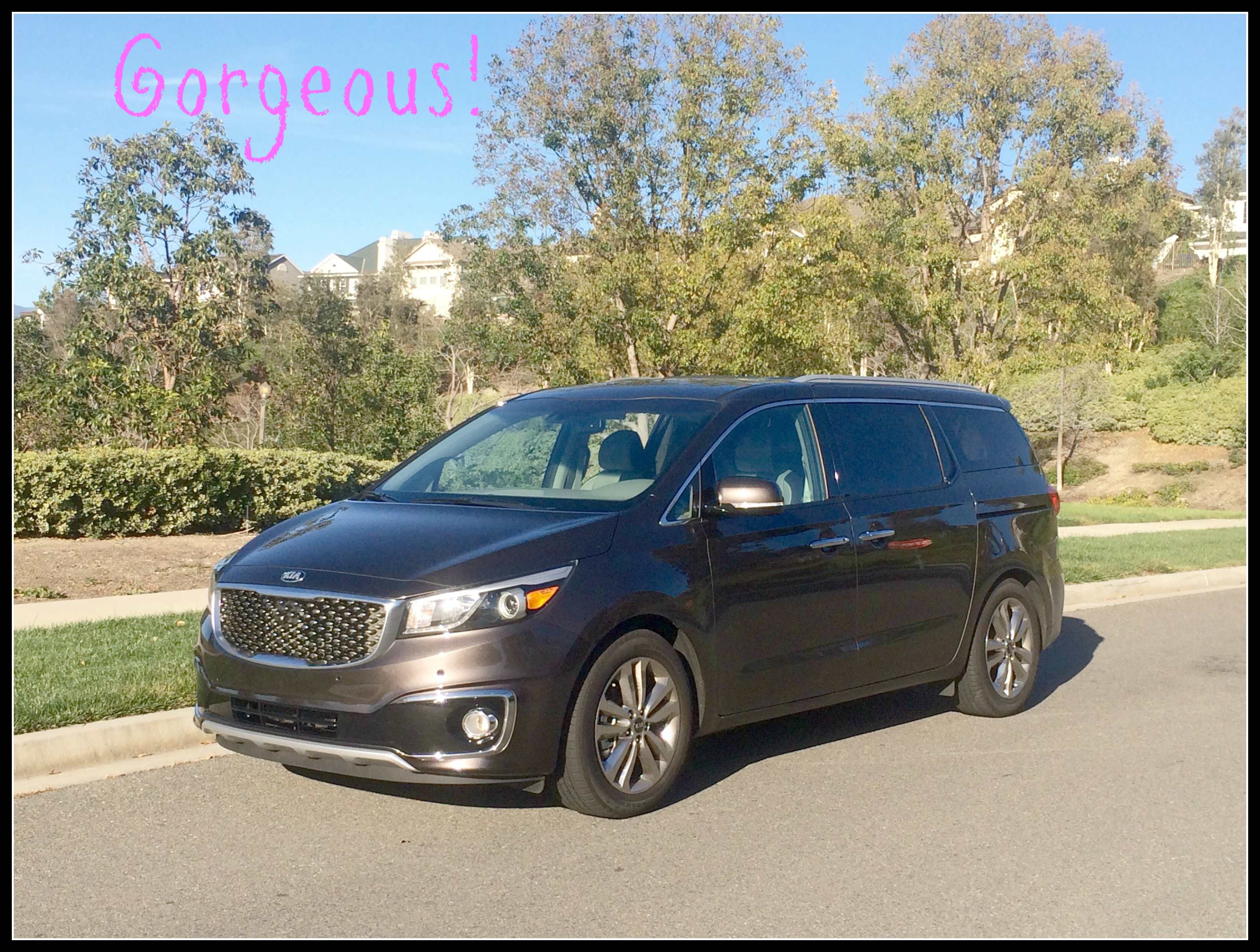 driving around in the kia sedona was as much fun as hanging out with one of the girls over. Black Bedroom Furniture Sets. Home Design Ideas