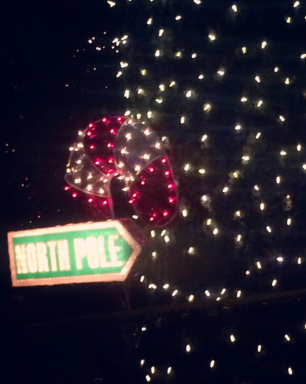 Irvine Park Railroad Christmas Train