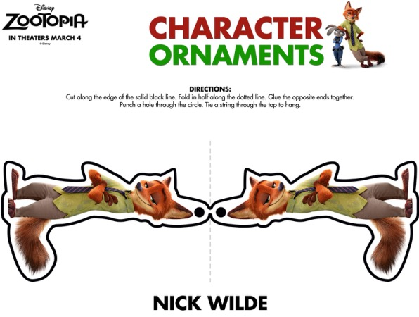 ZOOTOPIA-Ornaments-Nick-Wilde