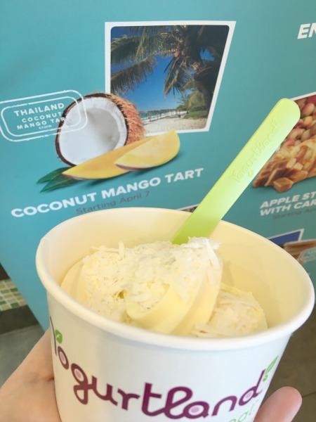 yogurtland-flavor-quest-coconut-mango-tart